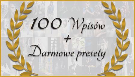 100 wpisów